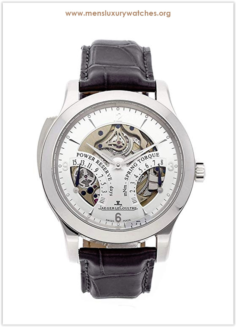 Jaeger-LeCoultre Master Mechanical Silver Dial Men's Watch price