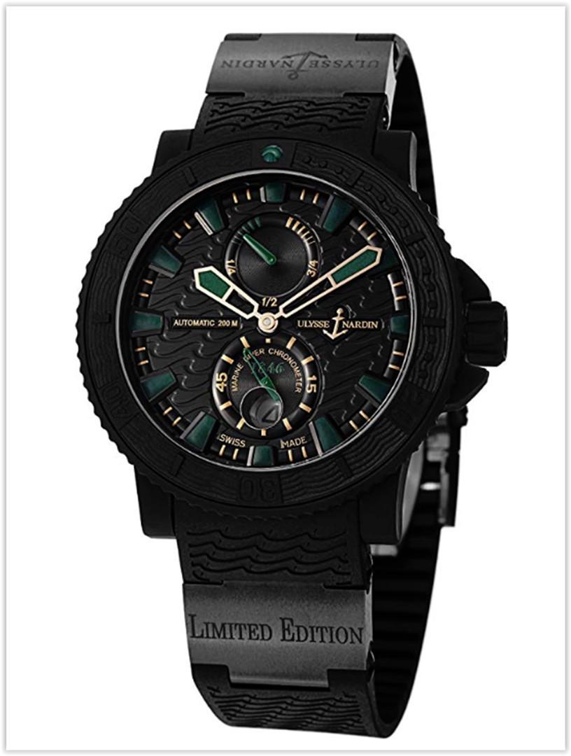 Ulysse Nardin Black Sea Men's Automatic Power Reserve Men's Watch Price