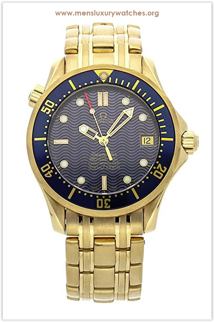 Omega Seamaster Mechanical (Automatic) Blue Dial Men's Watch 2153.80.00 Price