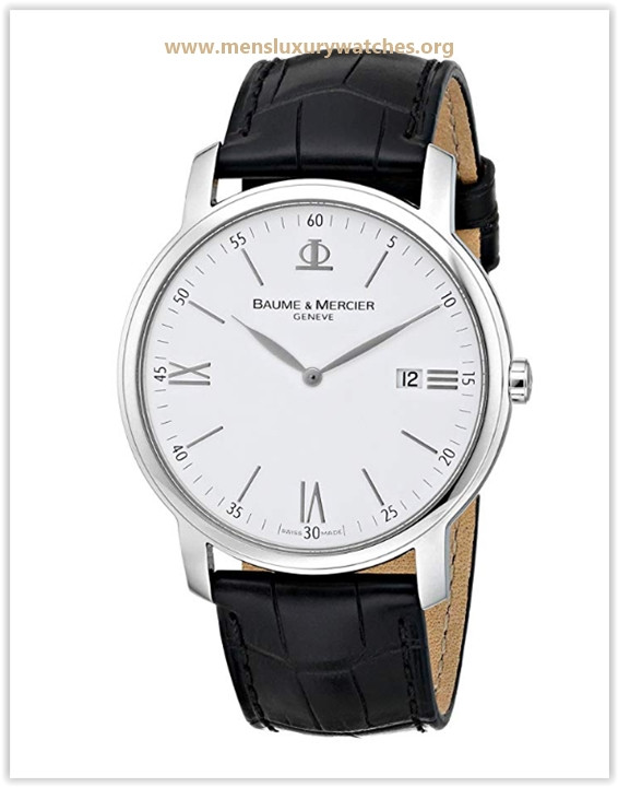 Baume & Mercier Men's 8485 Classima Swiss Date Watch Price May 2019