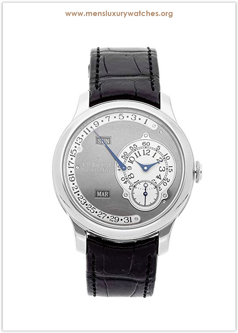 F.P. Journe Octa Mechanical (Automatic) Ruthenium Dial Men's Watch Octa Calendrier Price