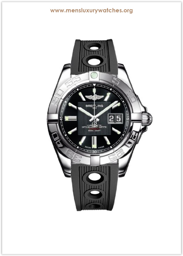 BREITLING WINDRIDER GALACTIC 41 MENS WATCH Price