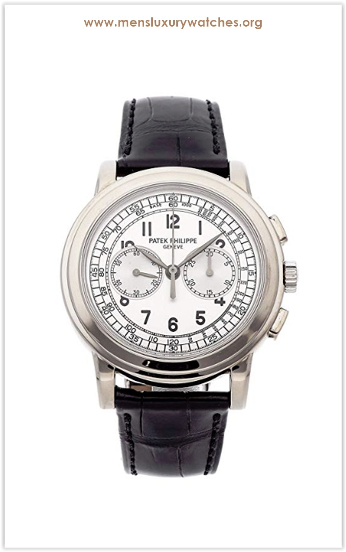 Patek Philippe Complications Mechanical (Hand-Winding) Silver Dial Men's Watch 5070G-001 the best price