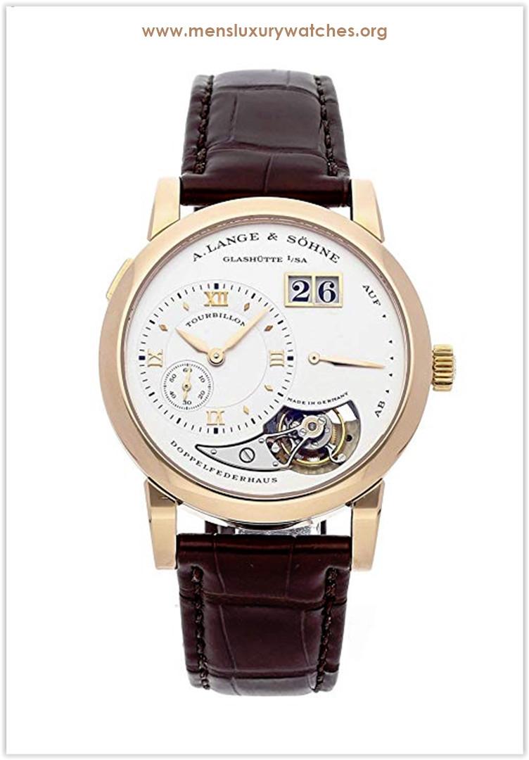 A. Lange & Sohne Lange 1 Mechanical (Hand-Winding) Silver Dial Men's Watch Price