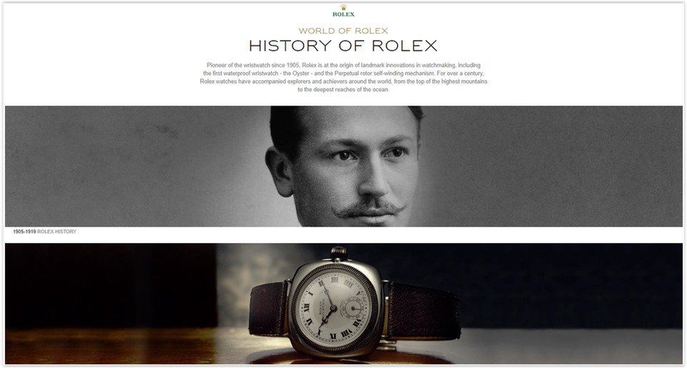 The Rolex Online Store