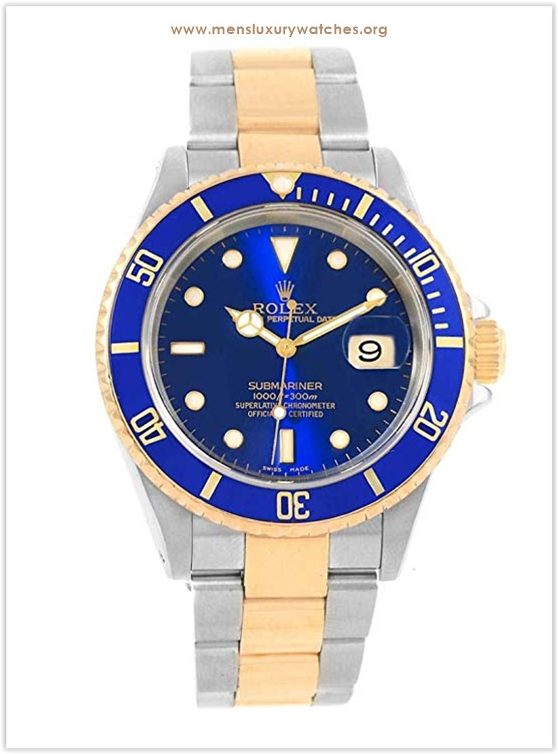 Rolex Submariner Automatic-self-Wind Blue Men's Watch the best price