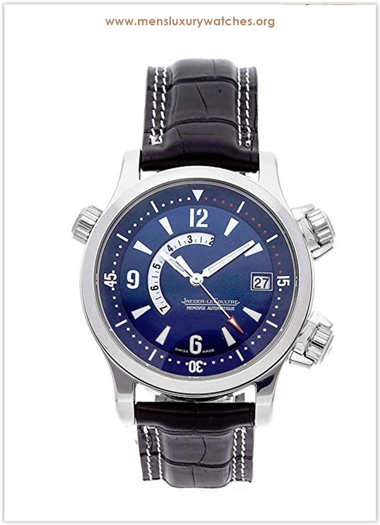 Jaeger-LeCoultre Master Compressor Mechanical (Automatic) Blue Dial Men's Watch Price