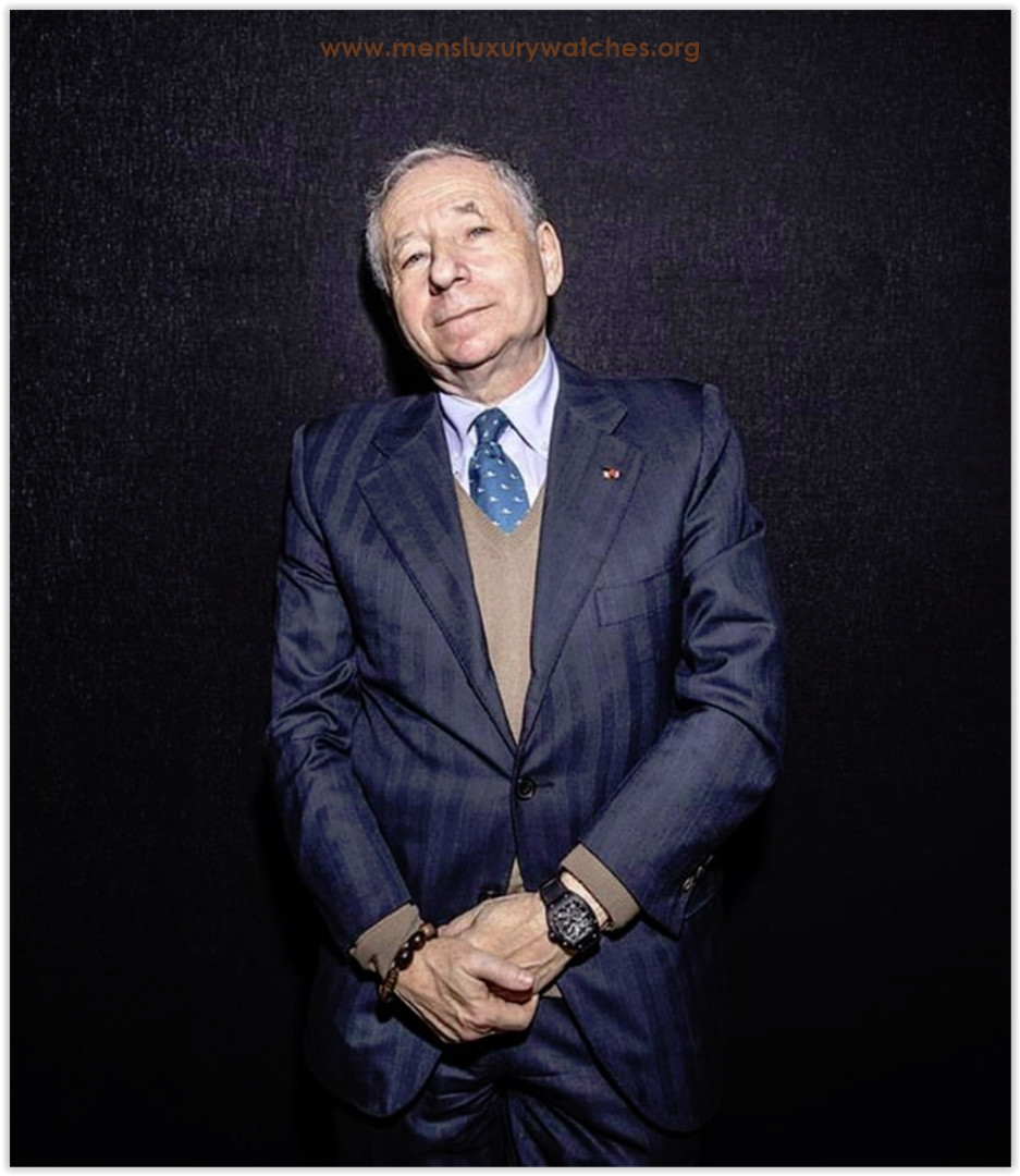 Jean Todt Richard Mille Watches