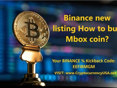 Binance new listing How to buy Mbox coin? Worldwide?