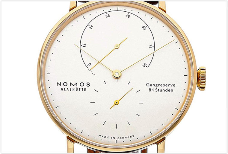 Nomos Glashutte Lambda Mechanical Silver