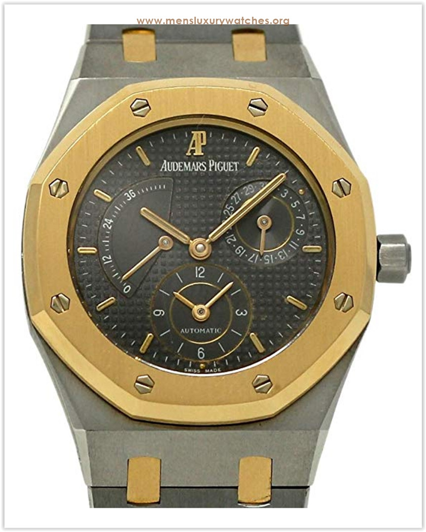 Audemars Piguet Royal Oak Dual Time Steel Gold 2 Yr Warranty Men's Watch the best price