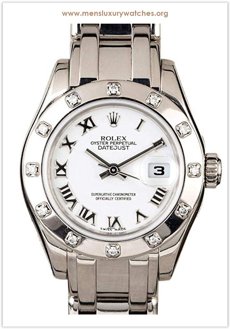 Rolex Datejust Swiss-Automatic Female Watch Price