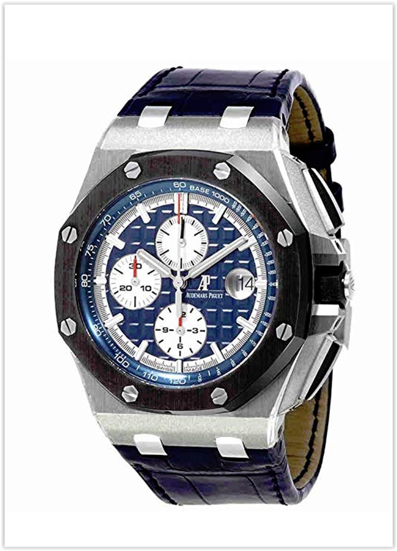 Audemars Piguet AP Royal Oak Offshore Chronograph 44mm Platinum Men's Watch price for the new year 2019