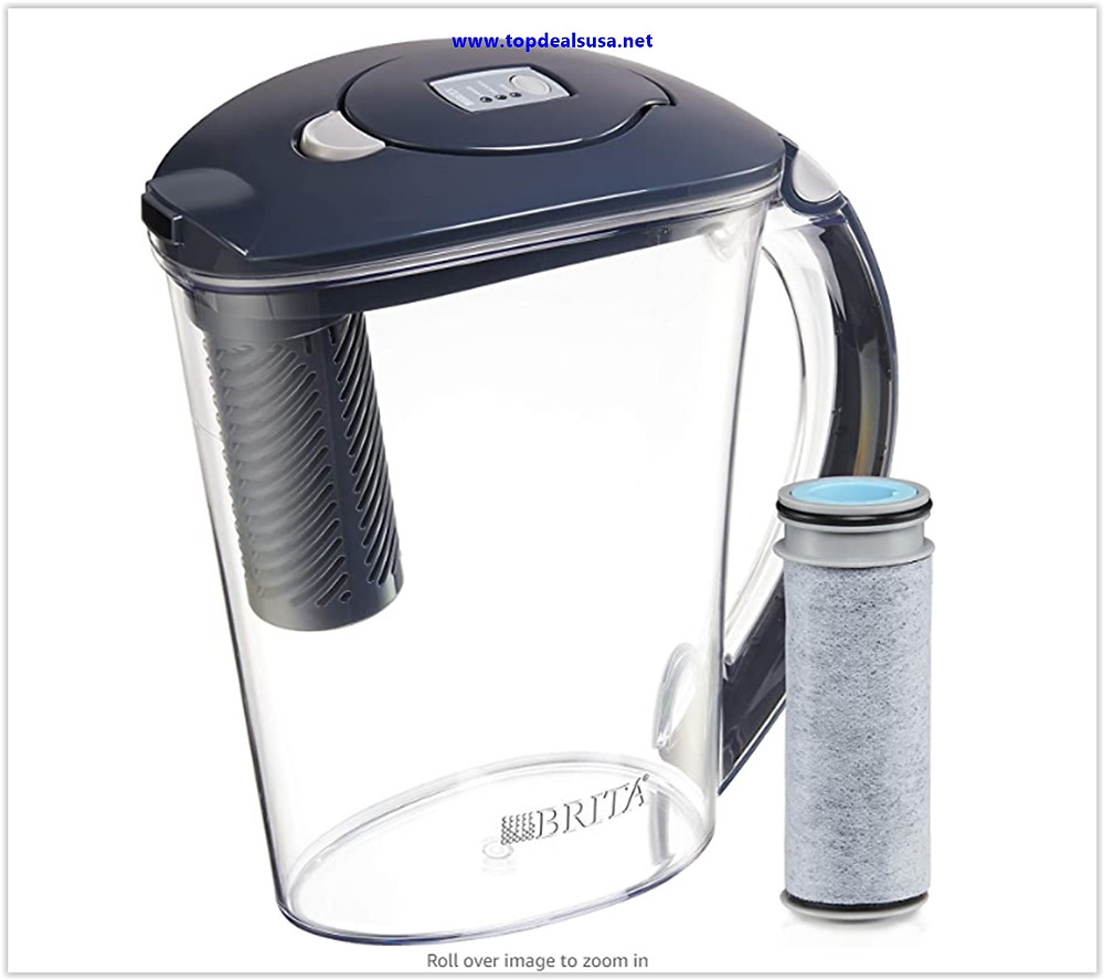 Best buy Brita Stream Filter-As-You-Pour Water Pitcher, 10 Cup, Carbon