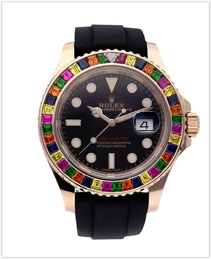 Rolex Yacht-Master Mechanical (Automatic) Black Dial Men's Watch best price