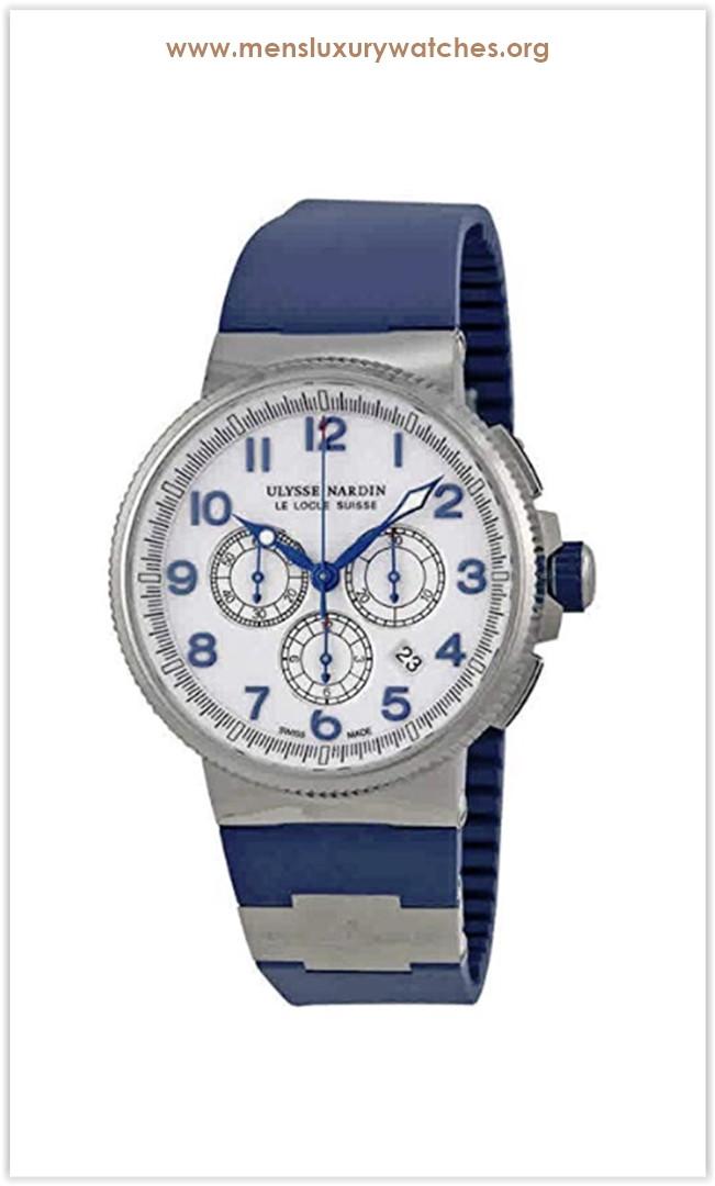 Ulysse Nardin Marine Diver Titanium Chronograph Men's Watch the best price