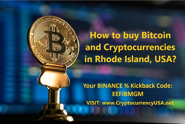 How to buy Bitcoin and Cryptocurrencies in Rhode Island, USA?