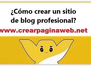 ¿Cómo crear un sitio de blog profesional?Abra un sitio de blog