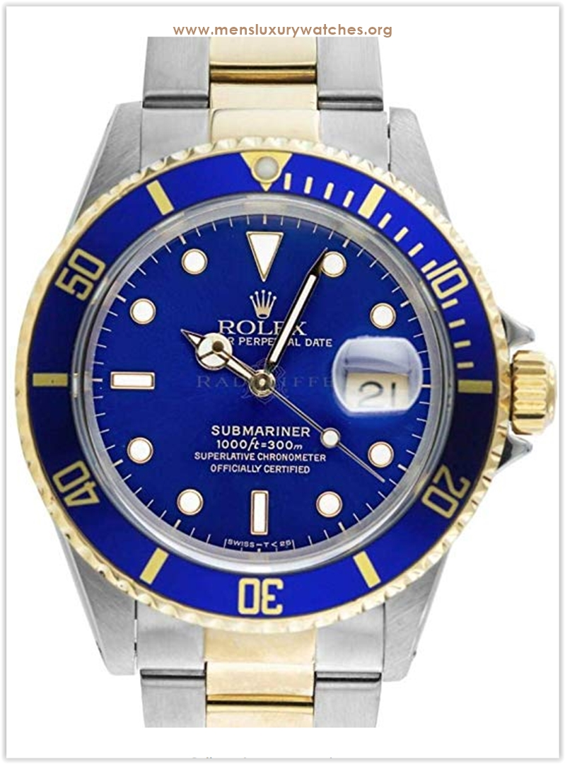 ROLEX Sub Blue Submariner Stainless Stee
