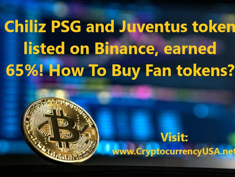 PSG and Juventus token listed on Binance, How To Buy Fan tokens?