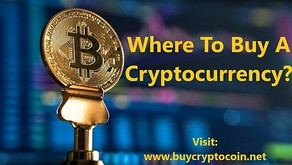 Where To Buy A Cryptocurrency?