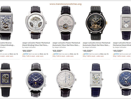Jaeger-LeCoultre Men's Watches Price List