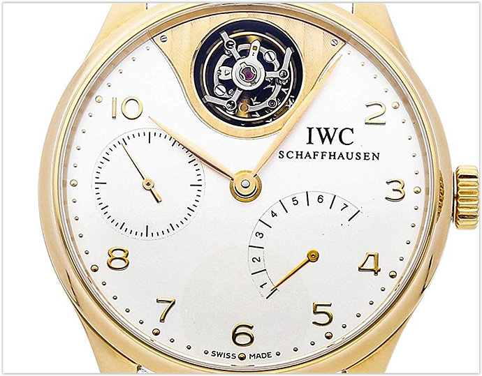 IWC Portuguese Mechanical Silver Dial
