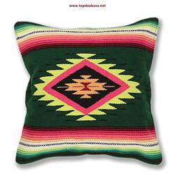 El Paso Designs Serape Throw Pillow Cove