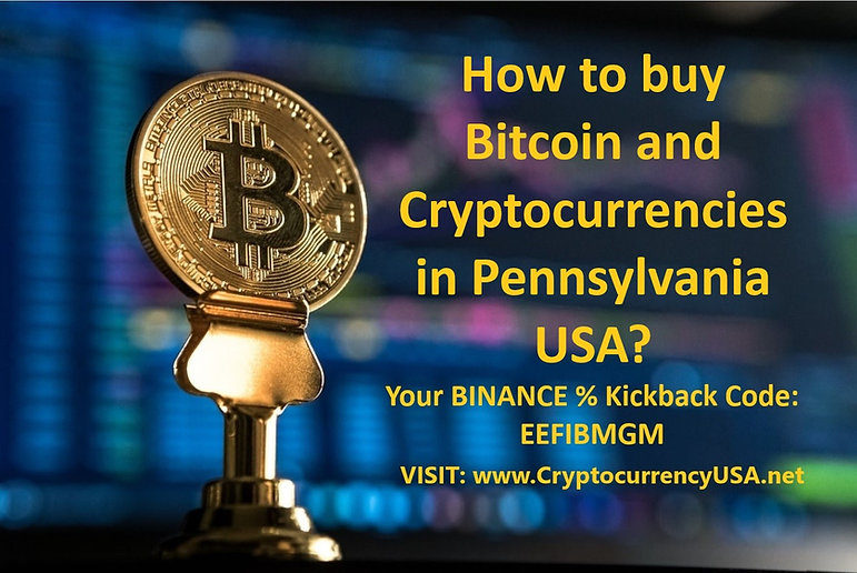 How to buy Bitcoin and Cryptocurrencies in Pennsylvania, USA?