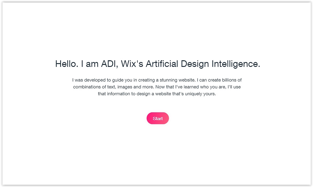 How to make a online store with Wix ADI