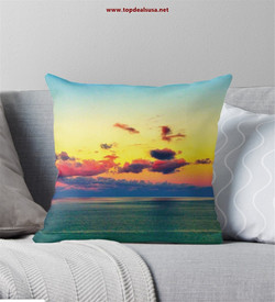 Nature supports LGBTI Throw Pillow
