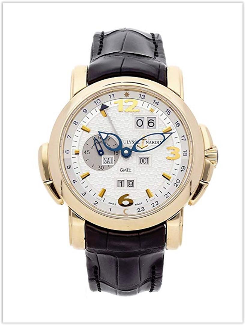 Ulysse Nardin GMT Perpetual Mechanical Silver Dial Men's Watch Price