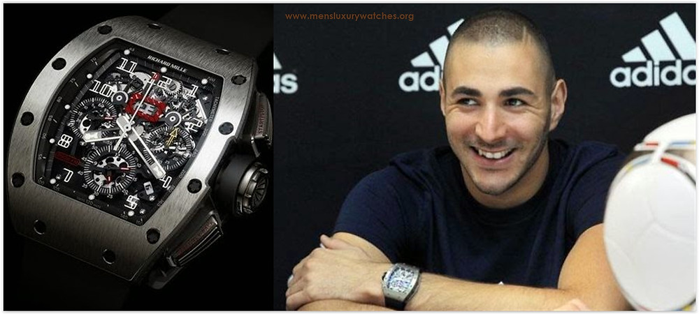 Karim Benzema Richard Mille Watches