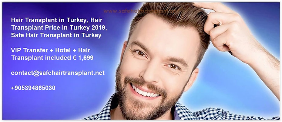 Hair Transplant Turkey Cost 2019