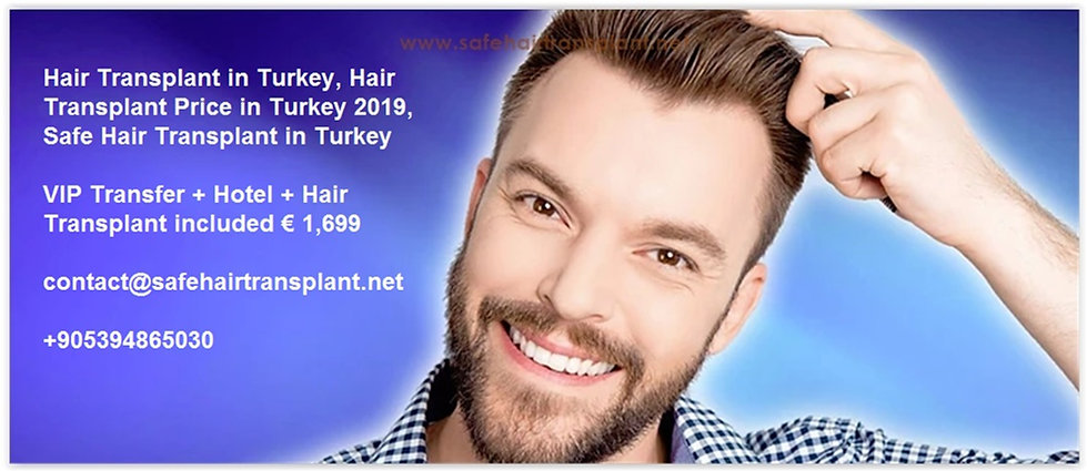 Hair Transplant Turkey Cost