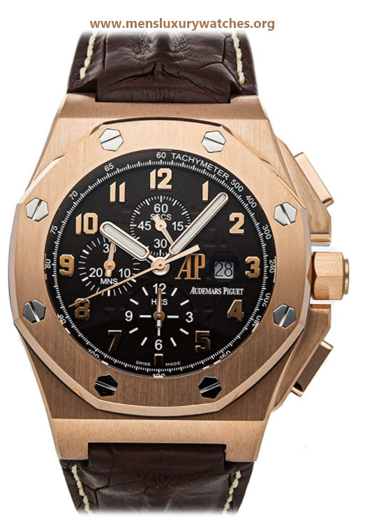 Audemars Piguet Royal Oak Offshore Mechanical(Automatic) Brown Dial Watch 26159OR.OO.A801CR.01 (Pre-Owned)