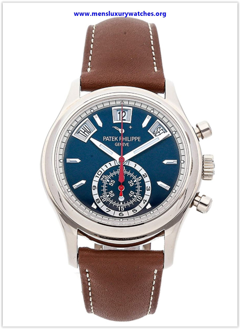 Best buy Patek Philippe Complications Mechanical (Automatic) Blue Dial Men's Watch 596001G-001