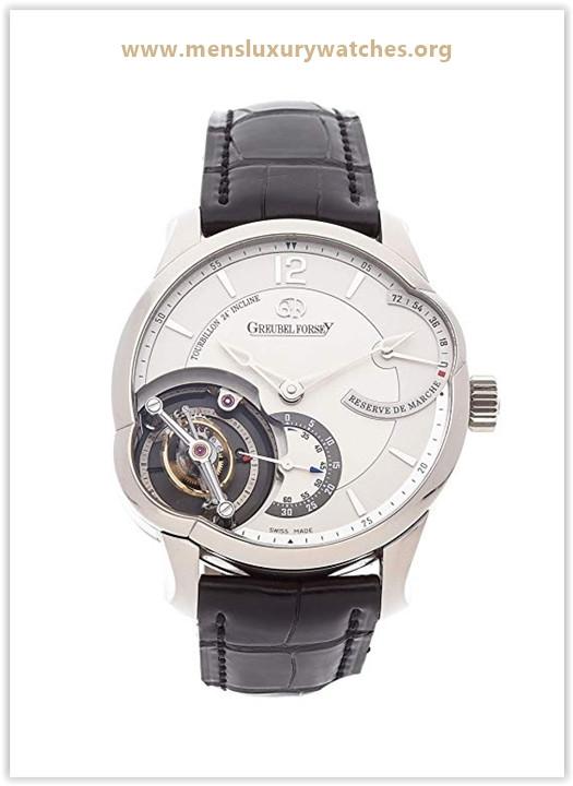 Greubel Forsey Tourbillon Mechanical (Hand-Winding) Silver Dial Men's Watch