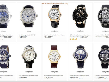 Luxury Lifestyle Advice: Ulysse Nardin Men's Watches Price List