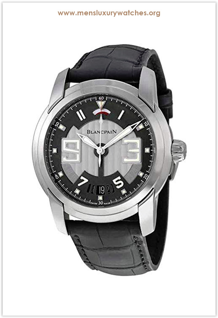 Blancpain L-Evolution Black Dial Stainless Steel Black Alligator Leather Men's Watch Price