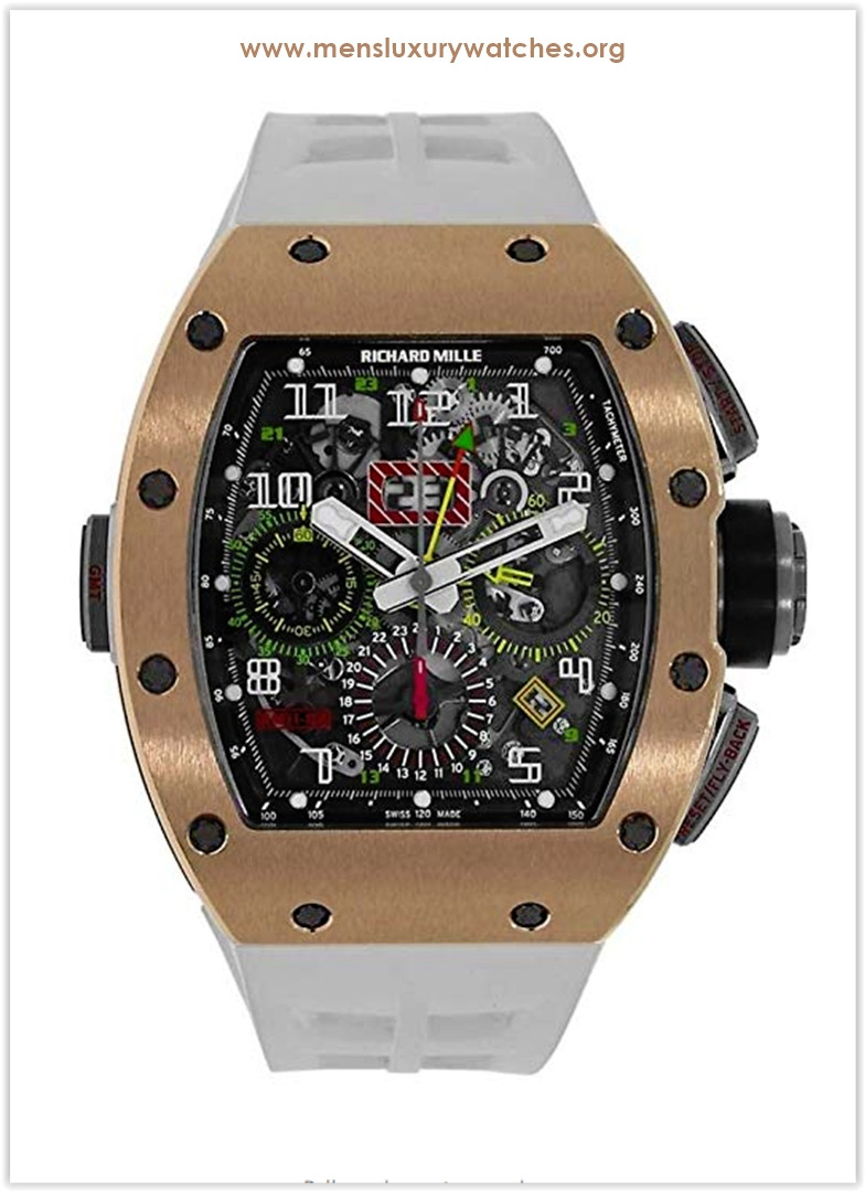 Richard Mille RM 011 Automatic-self-Wind Men's Watch RM011-02 the best price