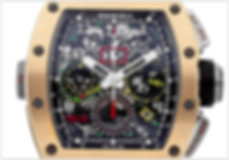 Richard Mille RM11 Mechanical Skeletonized Dial Men's Watch