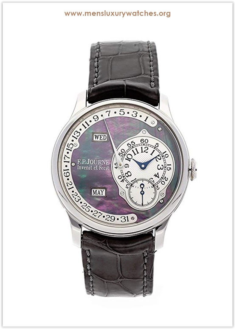 F.P. Journe Octa Mechanical (Automatic) Mother-of-Pearl Dial Mens Watch Octa Calendrier Price