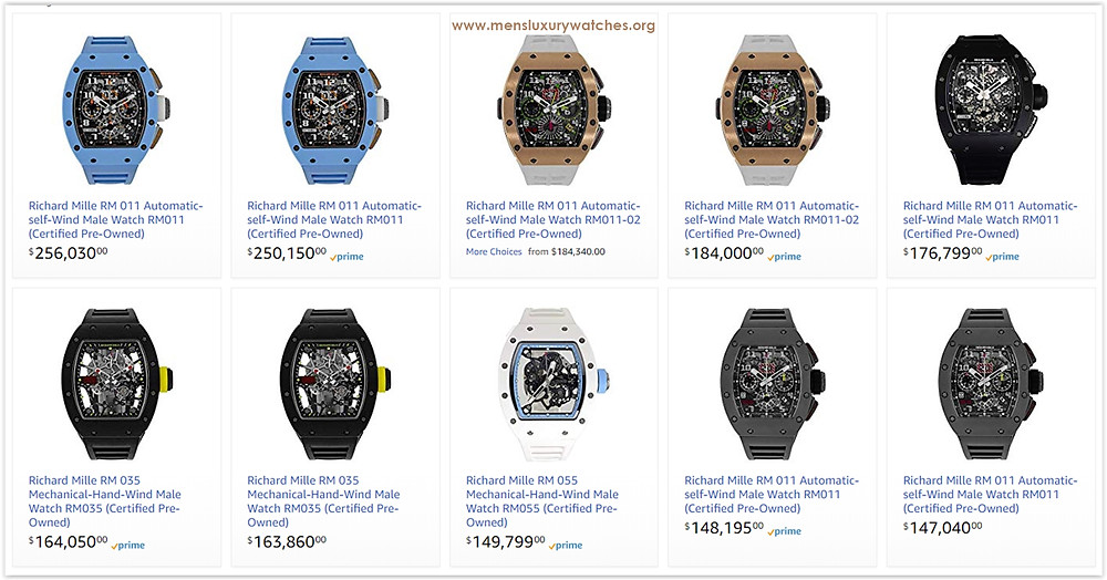 Richard Mille online watch store
