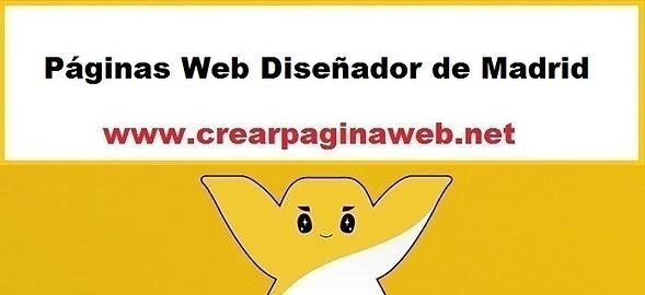 Páginas Web Diseñador de Madrid