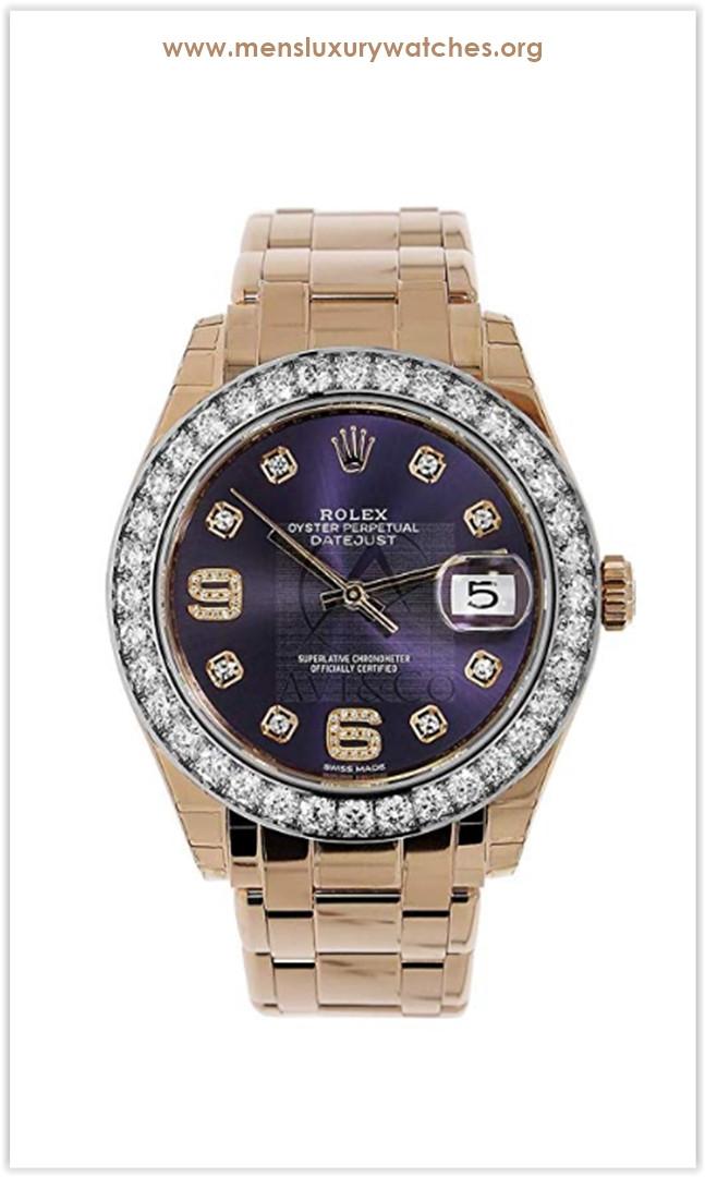 Rolex Datejust 39mm Masterpiece 18k Yellow Gold Watch Diamond Bezel Price