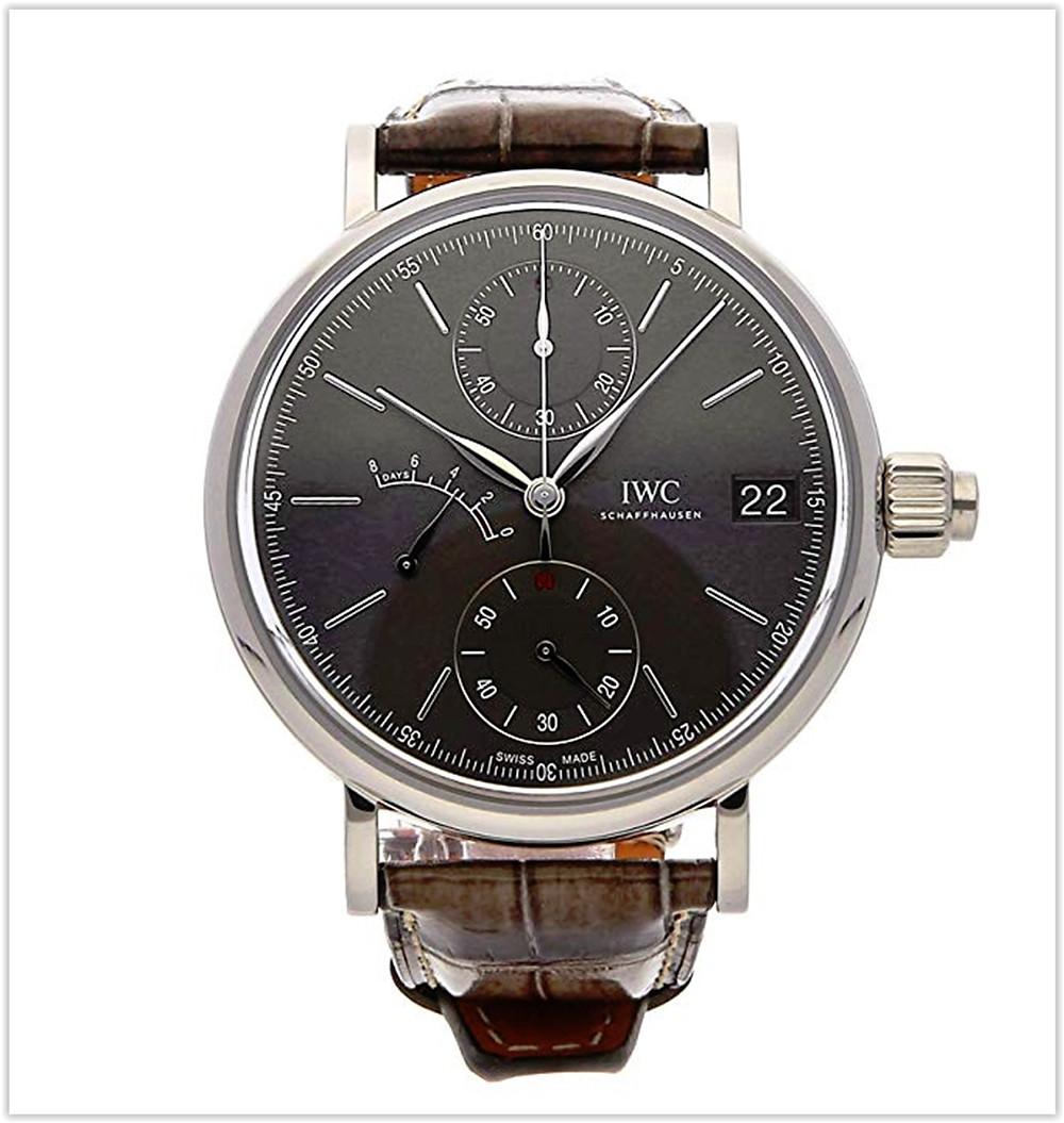 IWC Portofino Mechanical (Hand-Winding) Grey Dial Men's Watch best price