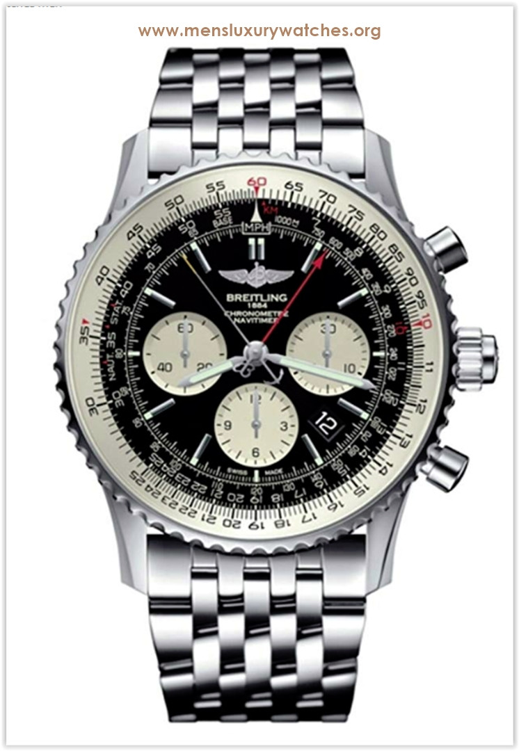 Breitling Navitimer Rattrapante Black Men's Watch Price