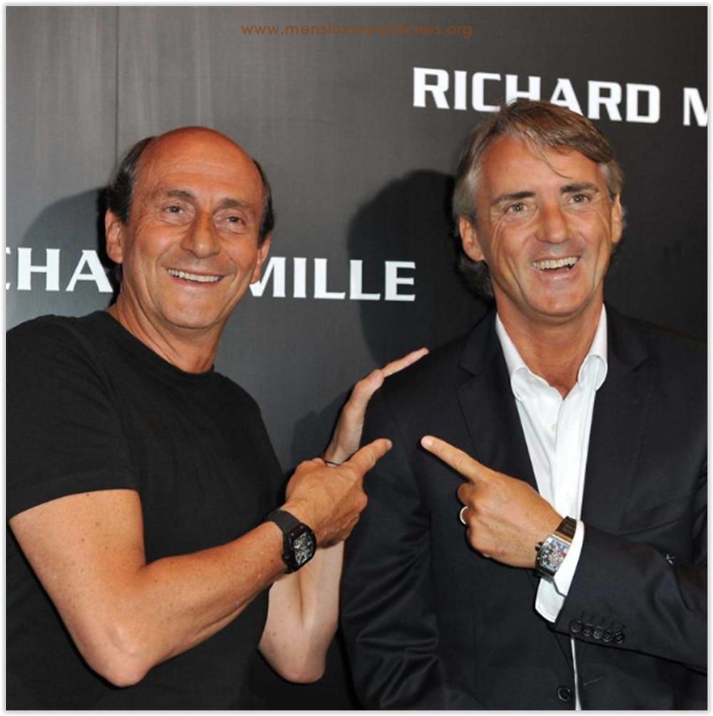 Roberto Mancini & Richard Mille