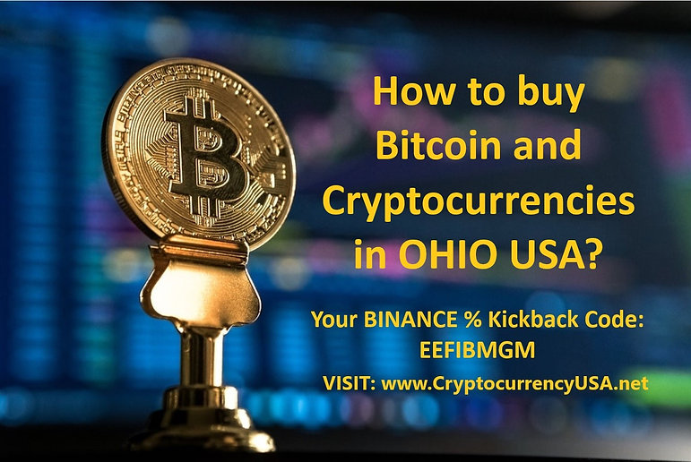 How to buy Bitcoin and cryptocurrencies in Ohio, USA?